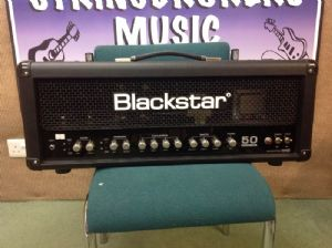 Blackstar Series 1 50w Valve Head S1-50 Including Footswitch and Amp Cover Used/Nearly New